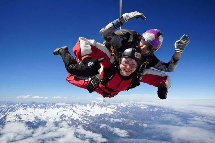 Inflite Skydive Franz Josef
